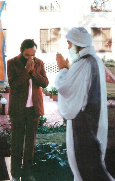 Ошо и Свами Ананд Арун