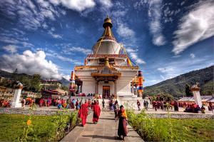 Bhutan Chorten