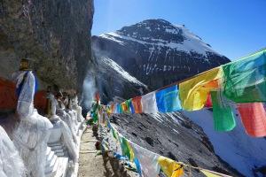 13 stupas